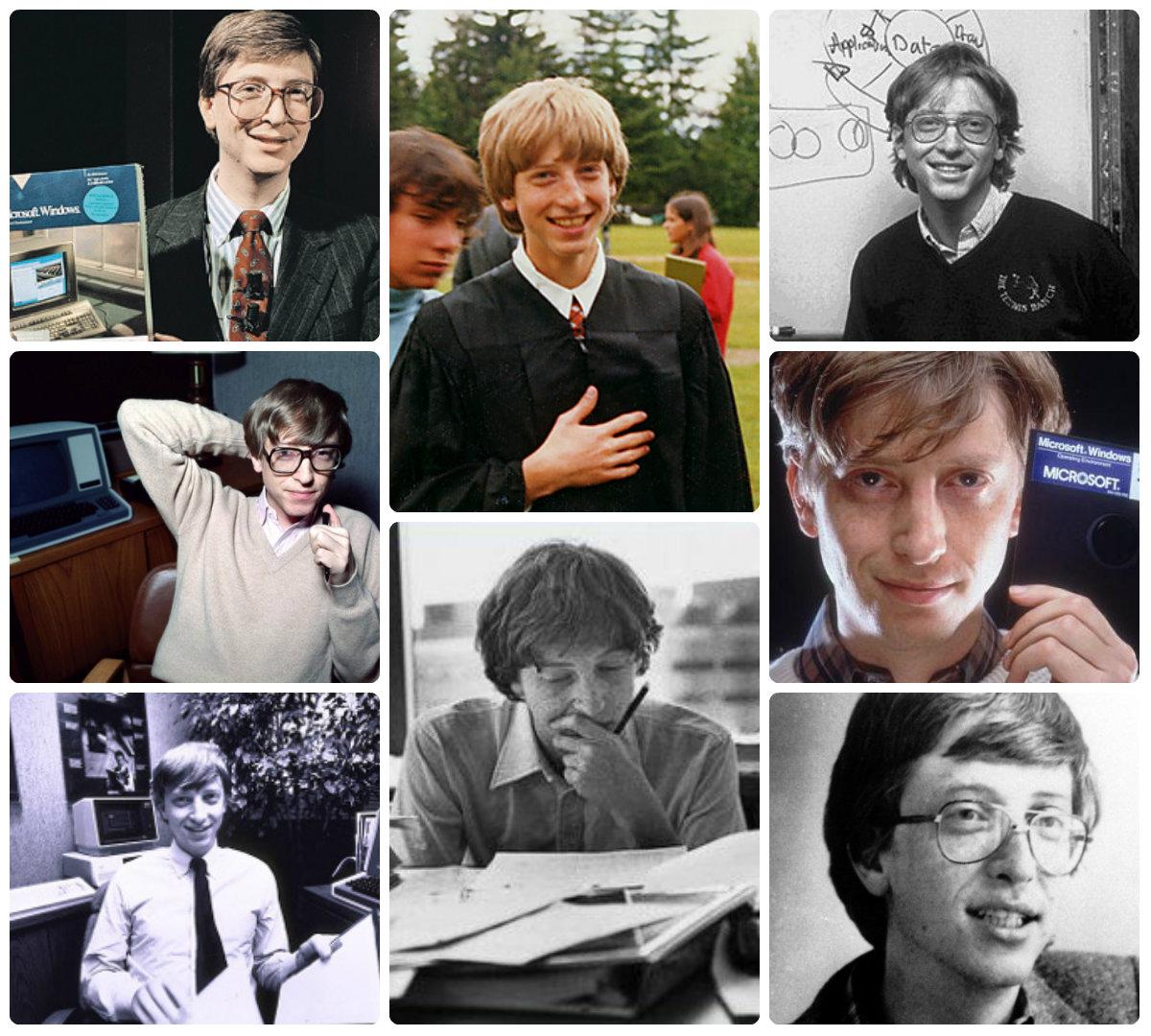Как выглядели в молодости самые богатые люди мира!