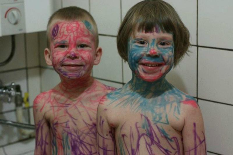 Дети - цветы жизни! Веселые последствия детских шалостей!