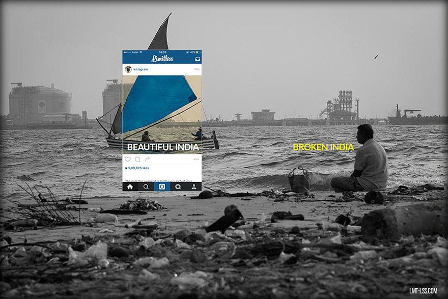Инстаграм vs. Реальная жизнь