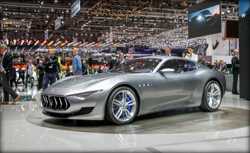 Экзотические новинки авто 2017 года