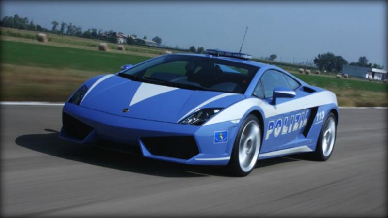 Лучшие полицейские автомобили в мире