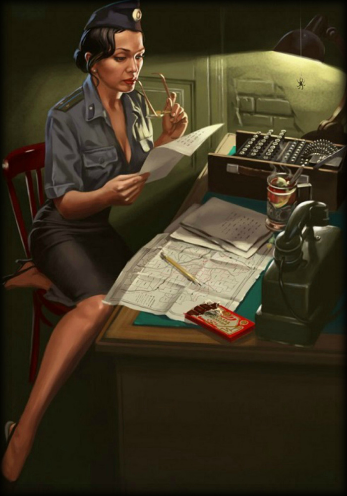 Пин-ап из СССР от Валерия Барыкина (17 постеров)