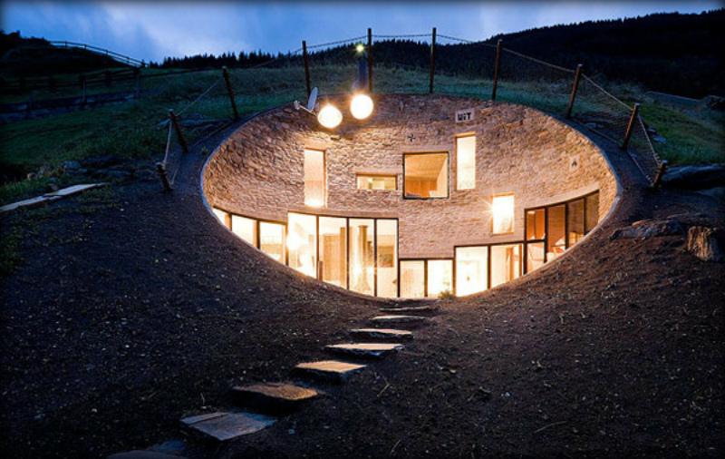 Невероятные дома, архитекторы которых прилетели из космоса
