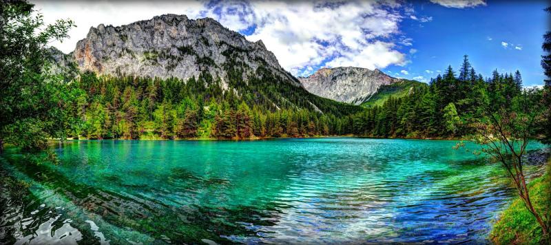 Исчезающее озеро, окутанное тайной