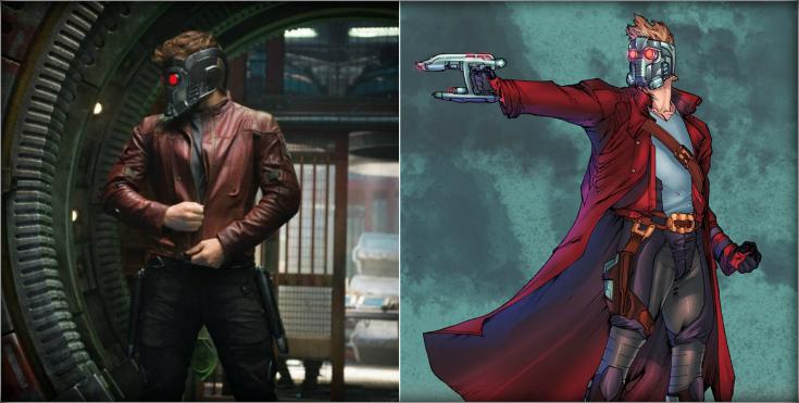 Самые любимые персонажи MARVEL и DC (Кино VS. Комиксы /22 фото)