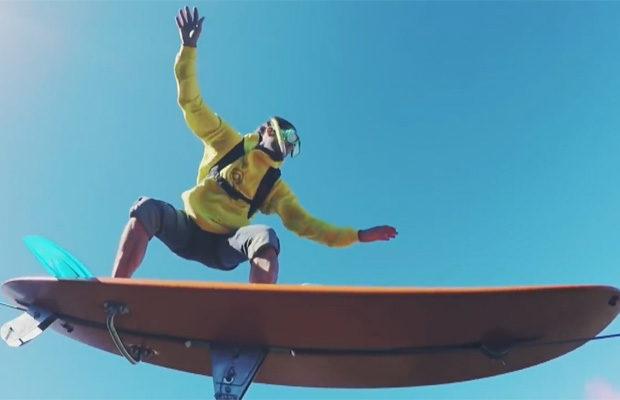Небесный серфинг или как плавать по воздуху