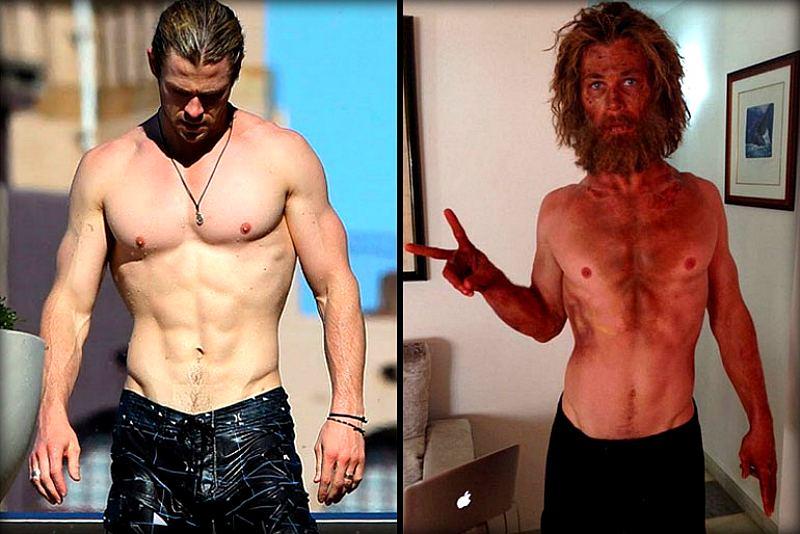 16 самых невероятных трансформаций тела, выполненных для ролей фильма