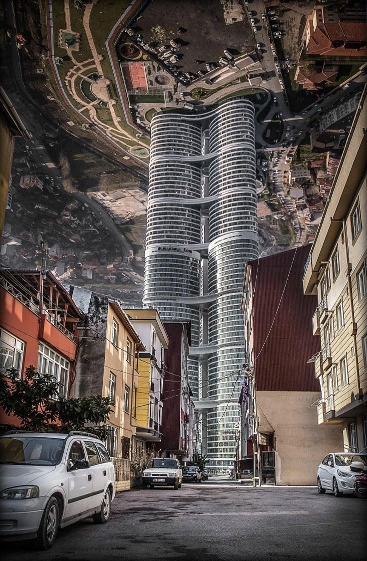 Преломляя реальность. Aydın Büyüktaş (17 фото)