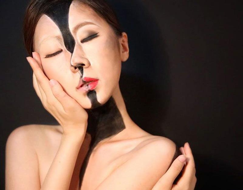 Эпично-крутой грим Dain Yoon (27 фото)