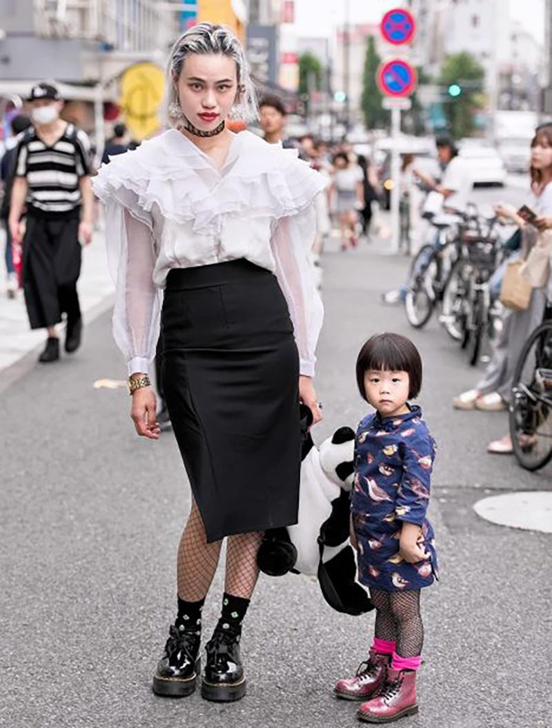 Самые модники на улицах Токио (35 фото)