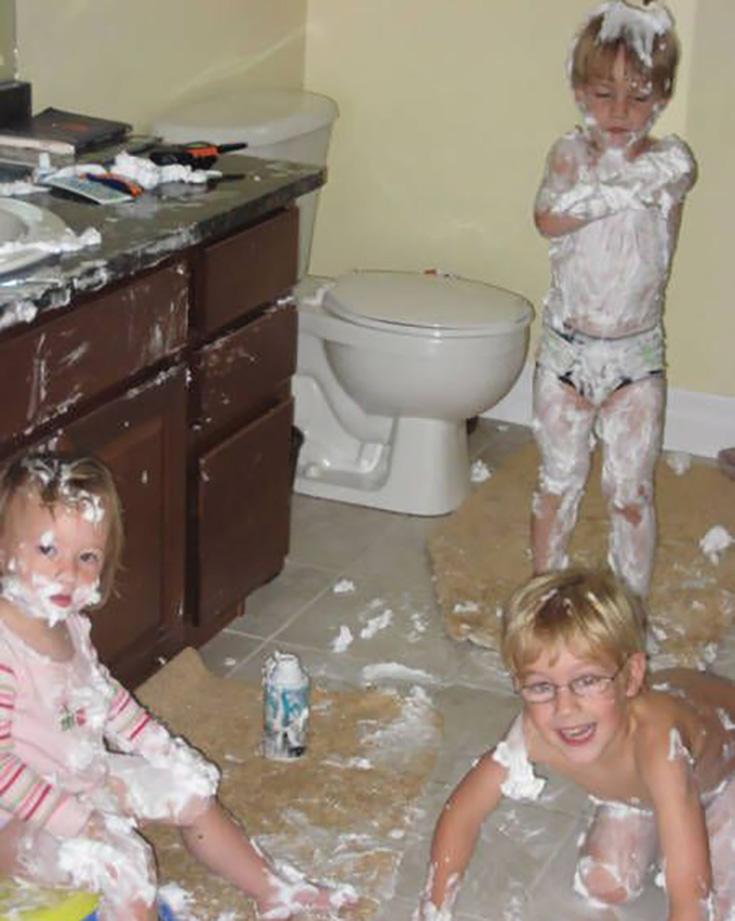 Никогда, запомните, Никогда не оставляйте детей без присмотра! (39 фото)