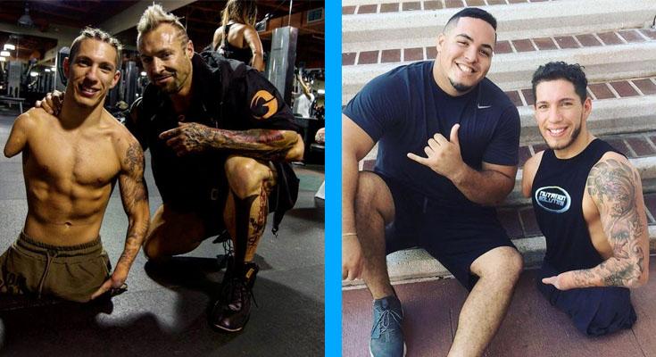 Как парень без рук и ног вдохновляет тысячи людей