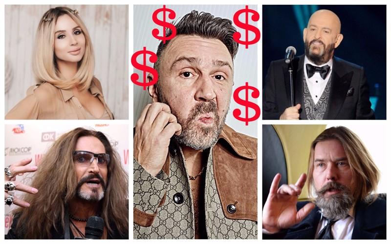Гонорары артистов: сколько стоят звезды на корпоратив?