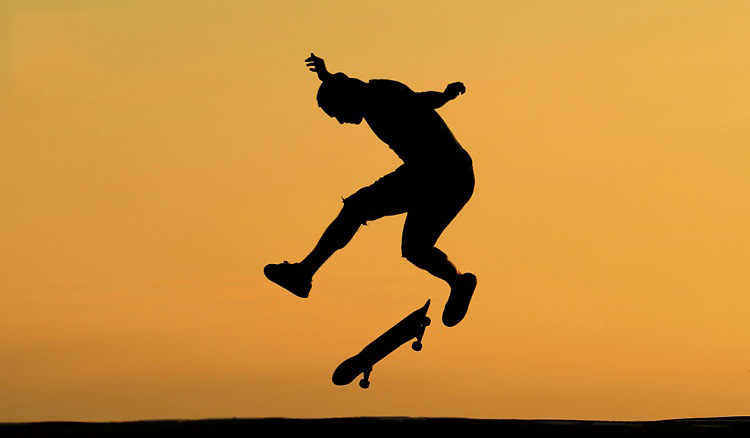 Упорный скейтбордист - добиться желаемого, несмотря ни на что!