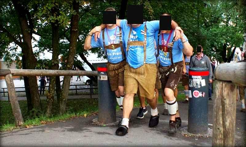 Обратная сторона фестиваля пива в Германии - Октоберфеста (24 фото)