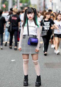 Токио не перестает удивлять своей уличной модой