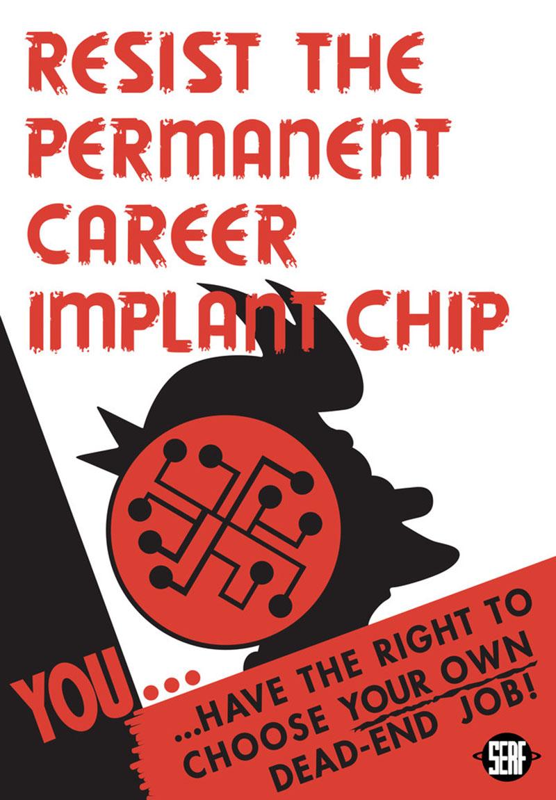 Шикарные постеры для Futurama