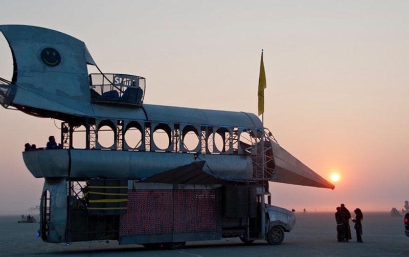Фантастическая архитектура на Burning Man 2017