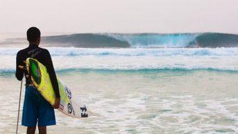 Слепой серфингист из Бразилии