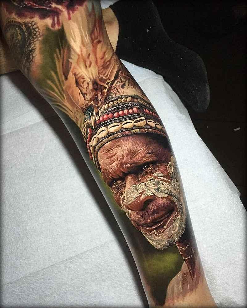 Стив Бутчер - мастер гиперреалистичных татуировок (15 фото)