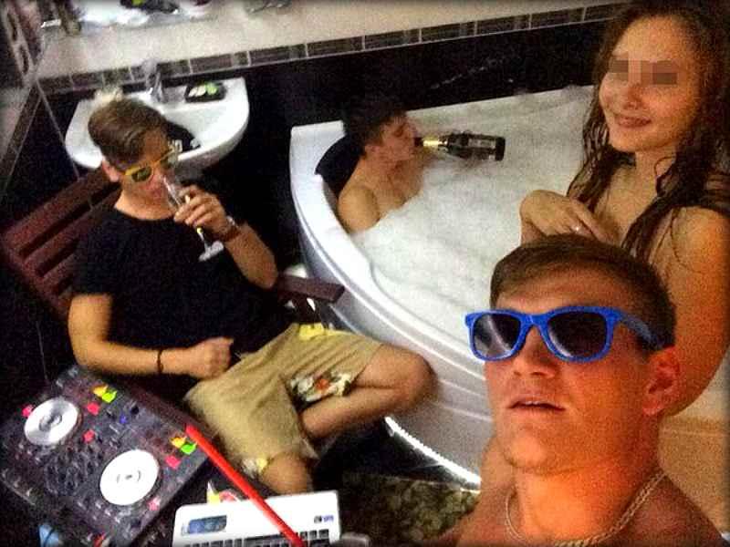 Как отрывается на флетах и вечеринках современная молодежь (22 фото)