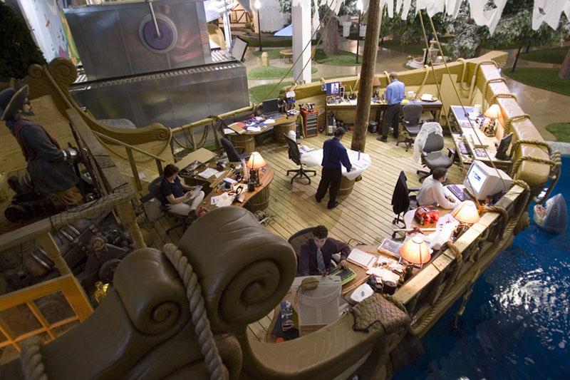 Офисы самых завидных работодателей мира