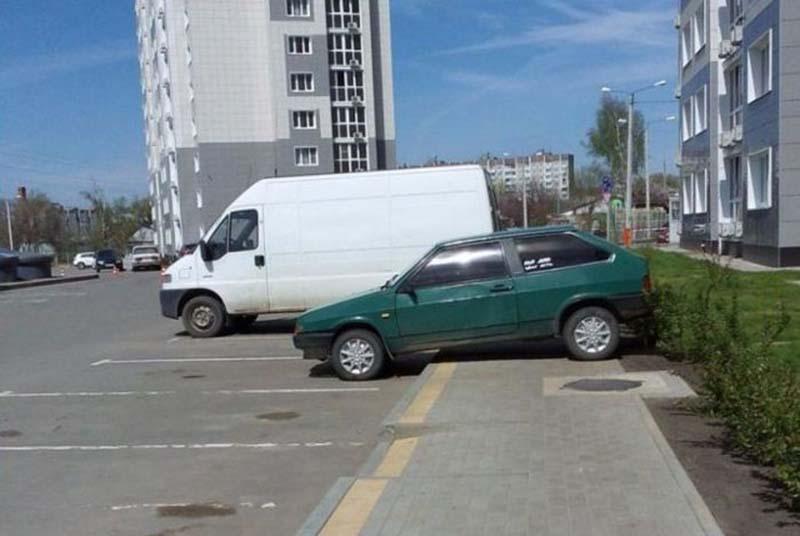 Подборка крутых водил, которые знают толк в парковке