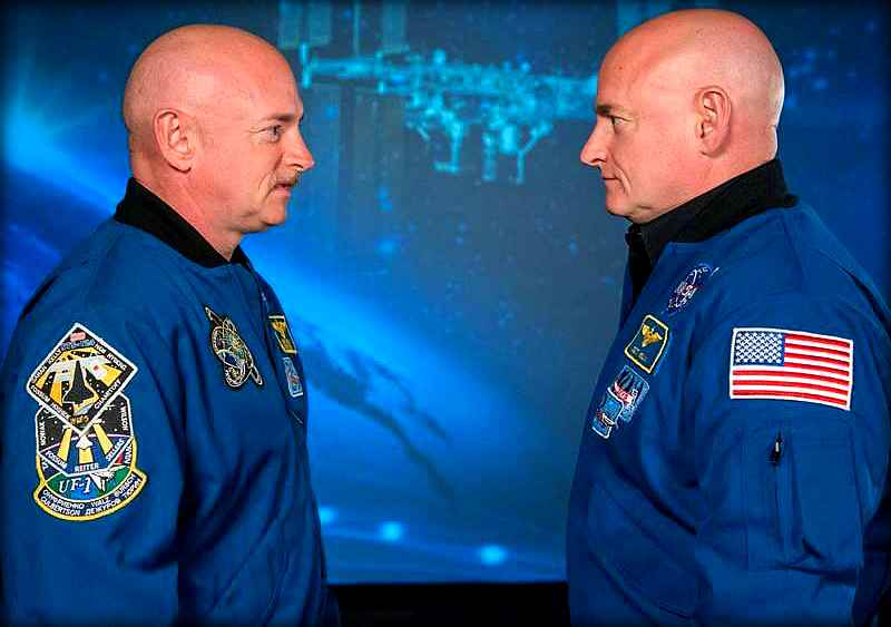 NASA отправило в космос одного из братьев-близнецов. Вернувшись на Землю его было не узнать