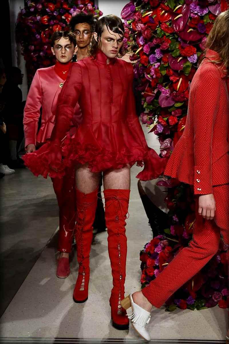 Испанский дизайнер показал как должен выглядеть современный модный мужчина (14 фото)