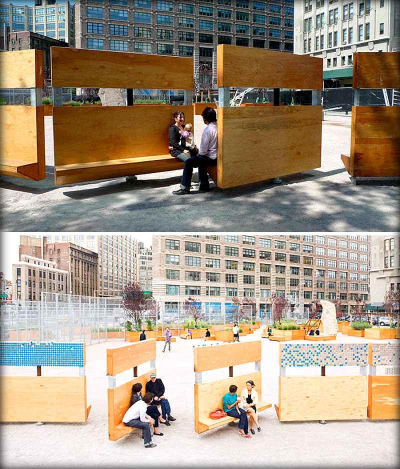 Подборка крышесносных скамеек и лавочек со всего мира. На таких грех не посидеть (21 фото)