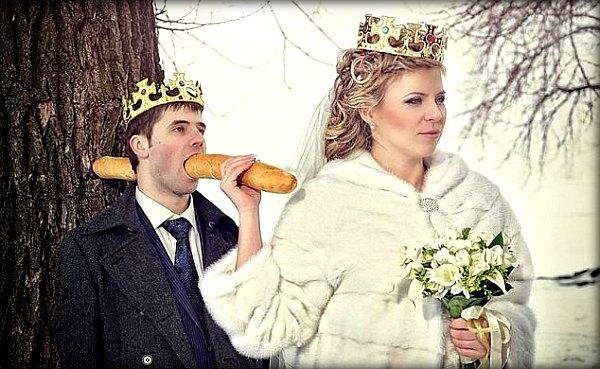 Без слез не взглянешь: фотографии со свадеб, сделанные