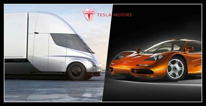 Tesla поразила мир: беспилотная электрофура и Tesla Roadster - 1.9 сек до 100