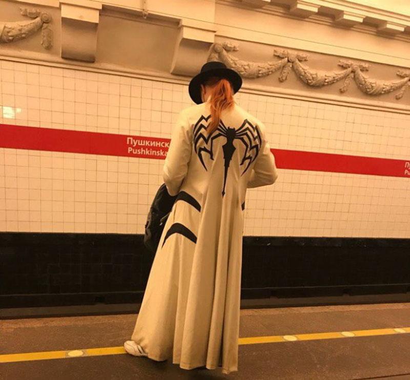 Топовые модники метро