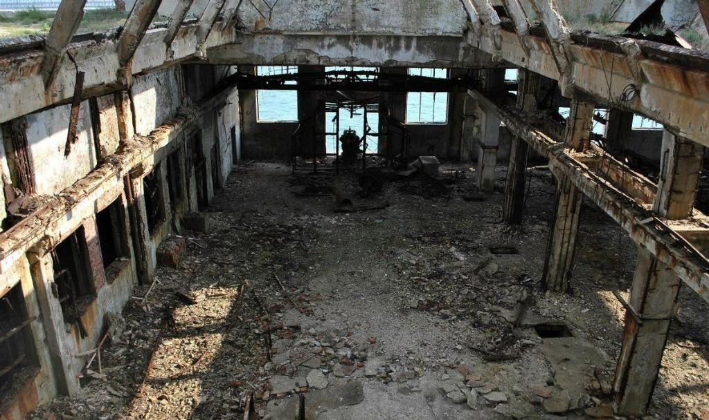 Топ самых страшных и заброшенных мест России