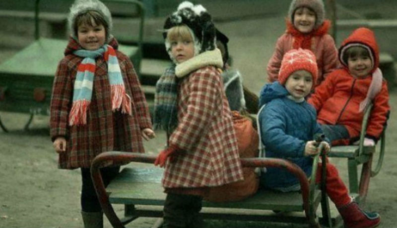Советское прошлое в цветных фотографиях