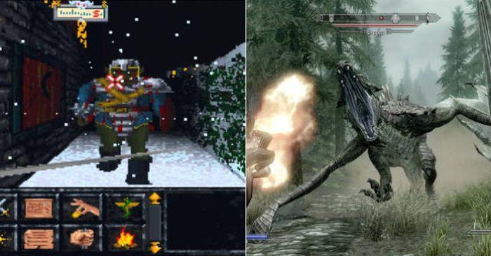 Как менялись видеоигры, начиная с нашего детства