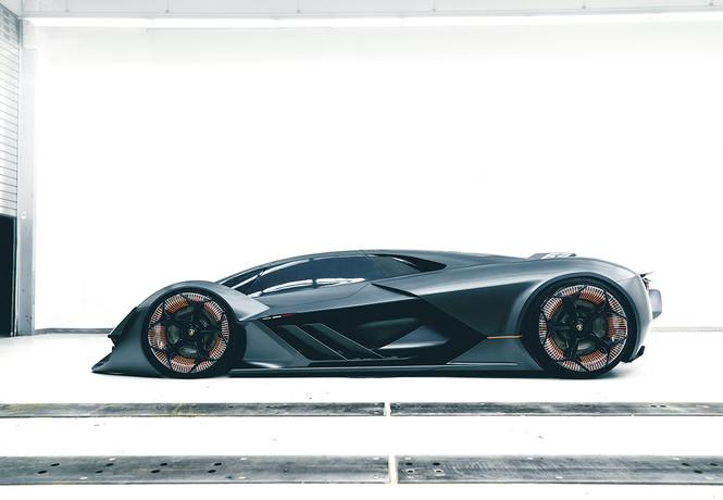 Самый агрессивный концепт от Lamborghini