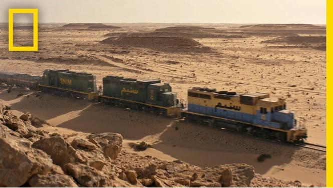 Чарующее: поезд через Сахару