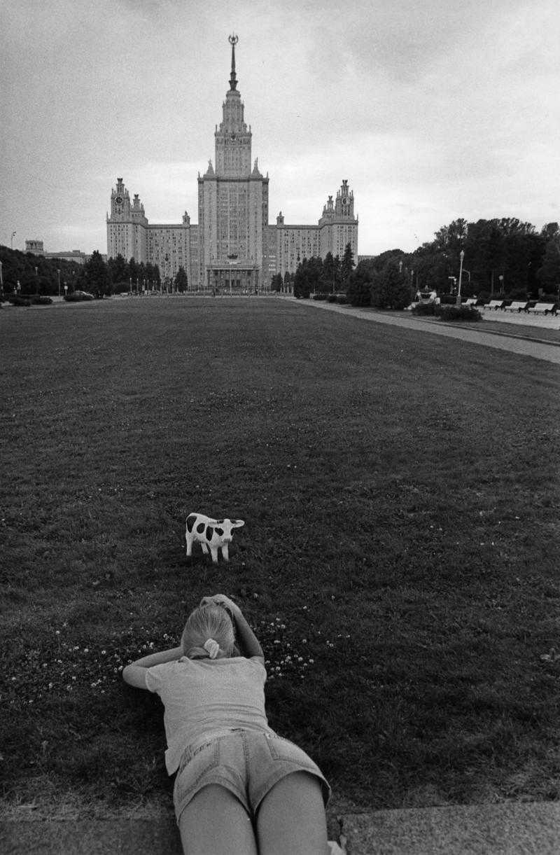 Ню и перестройка глазами фотографа Сергея Борисова