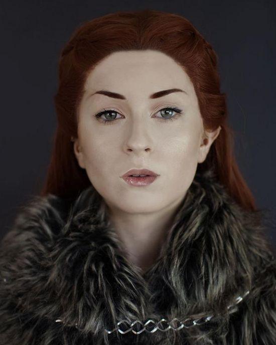 Именно её можно назвать королевой косплея!