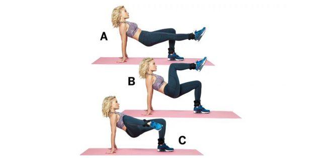 5 эффективных тренировок для ног от самой Мадонны!
