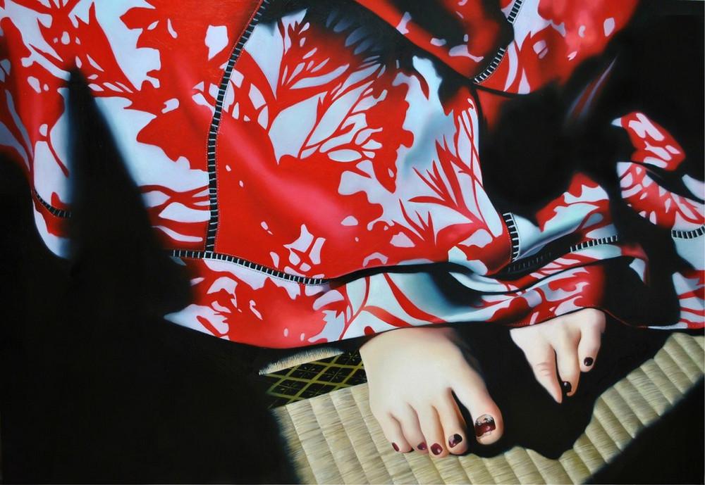 Реалистичные картины японской художницы