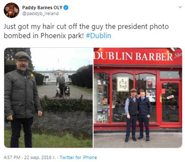 15 причин, почему президент Ирландии лучший в мире