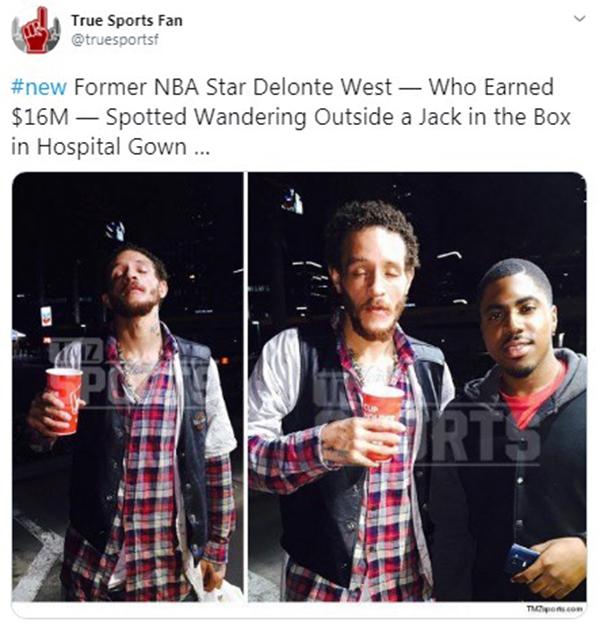 Звезда баскетбола и миллионер, который стал бомжом